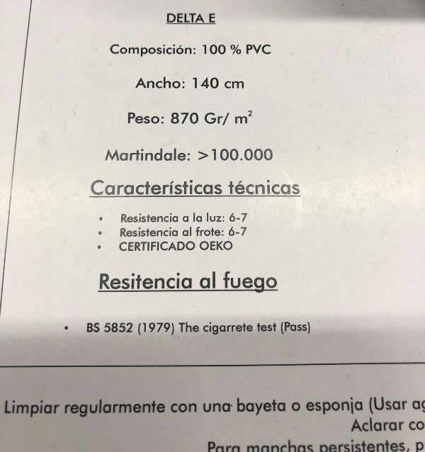 Tejidos contract
